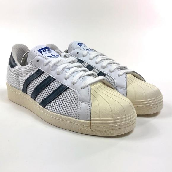 Adidas Superstar 80s Shell Toe Mesh Shoes Q20310